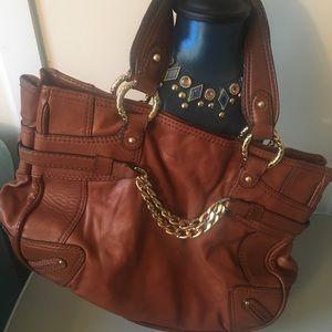 Antonio Melani honey brown handbag